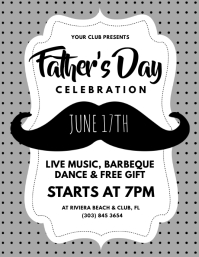 Father's Day Flyer Pamflet (VSA Brief) template