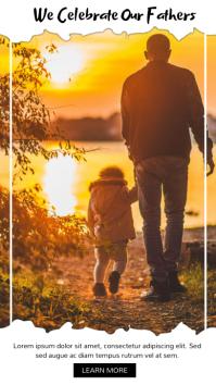 FATHER'S DAY INSTAGRAM POST Instagram-verhaal template