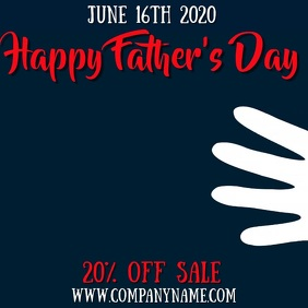Father's Day Instagram Template