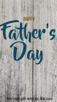 Father's day post Instagram-verhaal template
