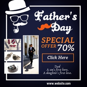 Father's Day Retail Sale Template