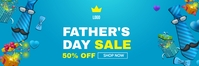 Father's Day sale banner E-Mail-Überschrift template