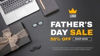 Father's Day sale Message Twitter template