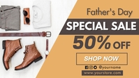 Father's Day Sale Pantalla Digital (16:9) template