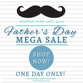 Father's day Sale Event Template