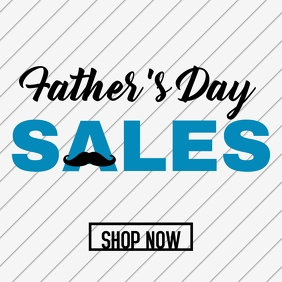Father's day sales instagram post