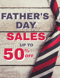 Father's day sales up to 50% off advertisemen