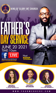 Father's day service US na Legal template
