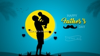Father's Day social media post Twitter-bericht template
