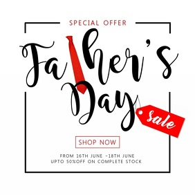 Father's Day Special Sale Video Template