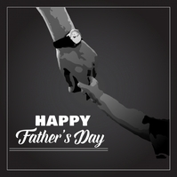 Father's Day Template Instagram Post