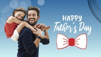 Father's Day template Twitter post Koptekst blog