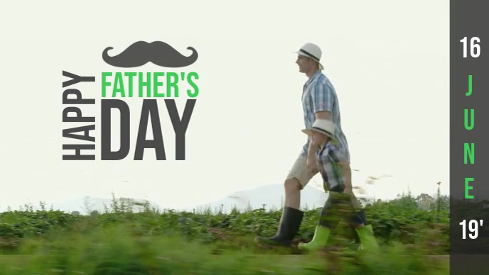 Father's Day Video template
