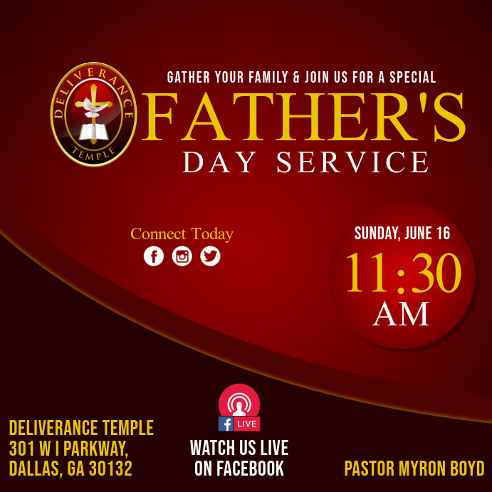 Father's Day Worship Service