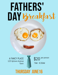 Father's Day face flyer