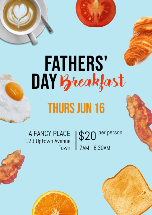 Fathers' Day Breakfast