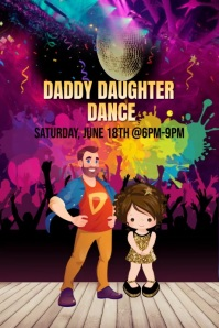 Fathers Daughter Dance Flyer