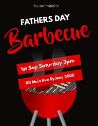 fathers day barbecue template