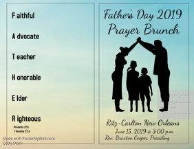 Fathers Day Brunch Program