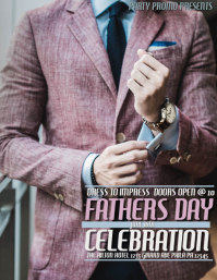 FATHERS DAY CELEBRATION Flyer (US-Letter) template
