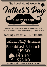 Fathers Day A1 template