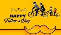 Fathers Day Etiqueta template