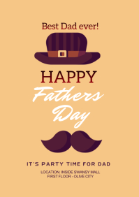Fathers Day A4 template