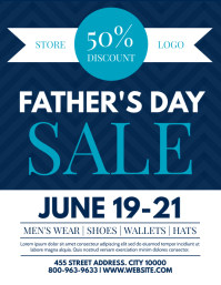 FATHERS DAY Flyer (US Letter) template
