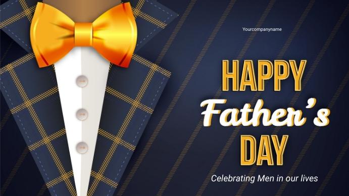FATHERS DAY Präsentation (16:9) template