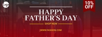 Fathers day facebook cover template