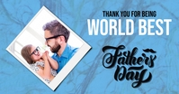 Fathers Day Facebook Share image template