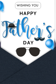 fathers day flyer Poster template