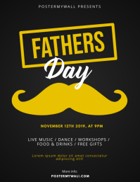 Fathers Day Flyer Design Template