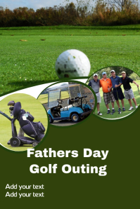 Fathers Day Golf Flyer