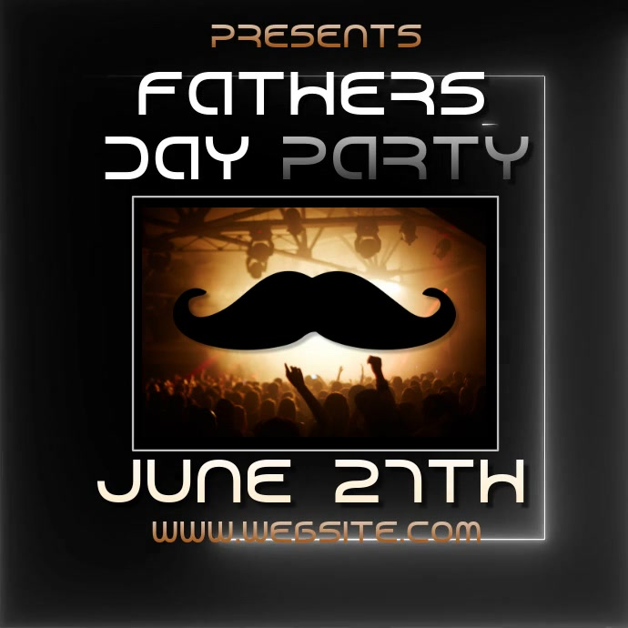FATHERS DAY PARTY ad video digital