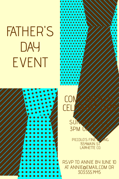 father s day template postermywall