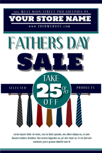 51befe89739ed Father s Day Sale Flyer Template. Fathers Day