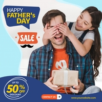Fathers Day Sale Instagram 帖子 template