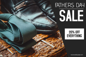 Fathers Day Sale landscape template