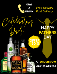 FATHERS DAY SALE TEMPLATE Flyer (format US Letter)