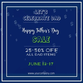 Fathers Day Sale Video