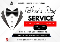 Fathers Day Service 2021 A3 template