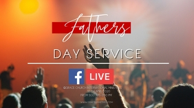 FATHERS DAY SERVICE Digitale display (16:9) template