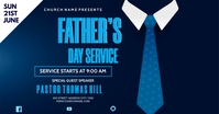 FATHERS DAY SERVICE Gedeelde afbeelding op Facebook template