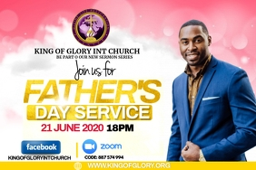 FATHERS DAY SERVICE FLYER