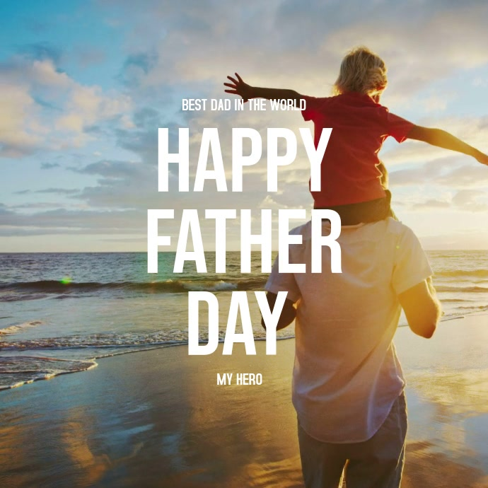 Fathers Day Template