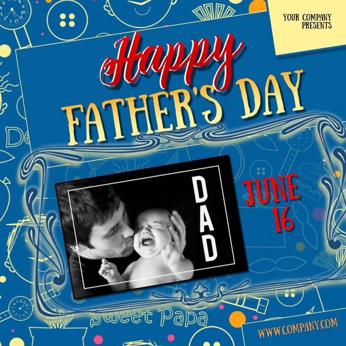 fathers day20insta Pos Instagram template