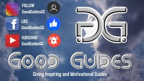 FB cover - Good Guides 1 Video Sampul Facebook (16:9) template