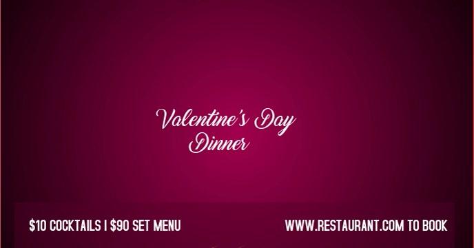 FB_valentine Facebook Event Cover template