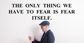 FEAR ITSELF QUOTE TEMPLATE Iklan Facebook